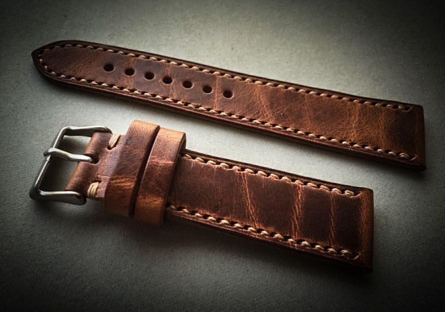 Ремешок для часов кожаный купить москва мужские часы tissot купить в украине